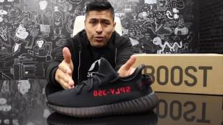 FIRST LOOK: Yeezy 350 V2 Black and Red!