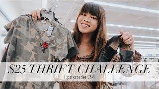 bychloewen $25 Thrift Challenge - Episode 34 // Huge Vintage Haul!