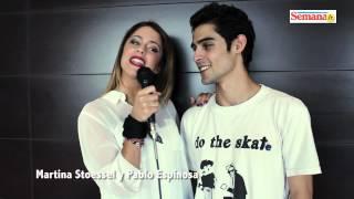 Виолетта Кастильо, Un saludo de Martina Stoessel y Pablo Espinosa para Semana Jr