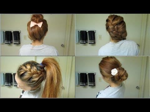 good school hairstyles