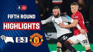 Ighalo Inspires in Rooney Reunion   Derby County 0-3 Manchester United   Emirates FA Cup 19/20