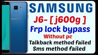how to bypass google account on samsung j600g without pc
