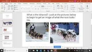 Iditarod packet