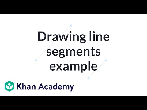 Drawing parallel line segments (video) | Khan Academy