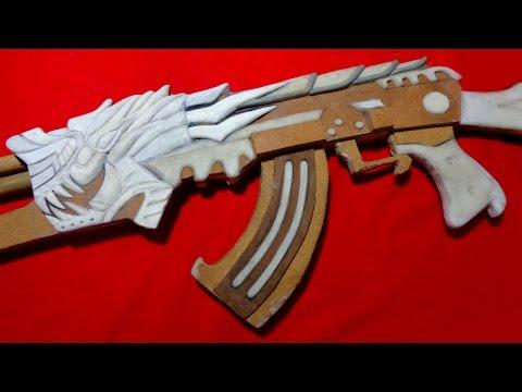 Como fazer a AK47 DRAGÃO do CROSSFIRE - PARTE 8