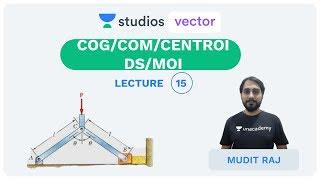 L15: COG/COM/Centroids/MOI   Engineering Mechanics   UPSC ESE   Mudit Raj