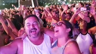 Shows do aniversário de Santos reúnem 80 mil na praia do Gonzaga