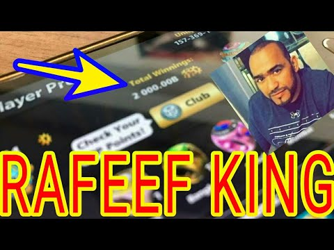 8 ball pool - me vs Rafeef level 604 almost the highest