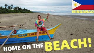 BecomingFilipino – BEACH LAND IN THE PHILIPPINES – Family Life Along The Coast (Davao, Mindanao)