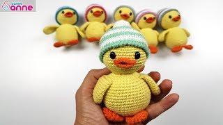 Amigurumi ördek Yapımı - Amigurumi Free Pattern Baby Duck @Canım Anne