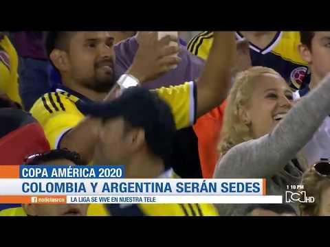 Copa America 2020: Colombia y Argentina seran las sedes