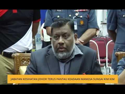 Jabatan Kesihatan Johor terus pantau keadaan mangsa Sungai Kim Kim