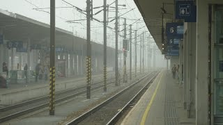 preview picture of video 'Sobotní provoz na Linz Hbf. [FHD]'