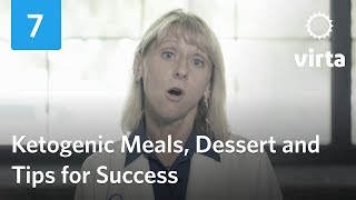 Dr. Hallberg On Ketogenic Meals, Desserts And Tips For Success (Ch 7)