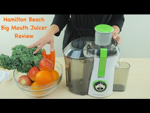 Video Hamilton Beach Big Mouth Juice Extractor Review