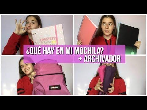 TAG DE LA MOCHILA+ ARCHIVADOR | It´s Meri