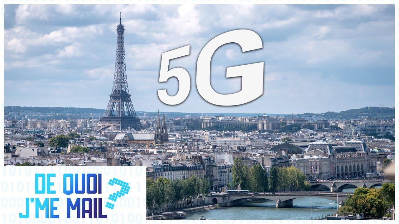 Qui a le meilleur réseau 5G à Paris ?  DQJMM (2/2)