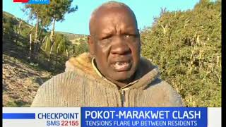 Pokot-Marakwet Clash:Tension flare up between residents,more than 1500 displaced