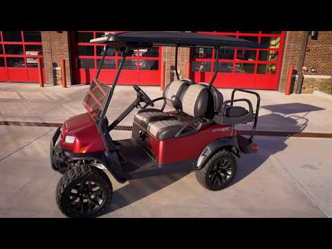 2018 Club Car Onward Candy Apple Graphite Special Edition (Electric) in Lakeland, Florida