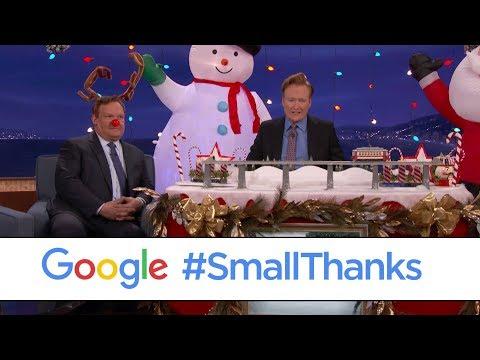 Conan's #SmallThanks Holiday Lights Pit Crew