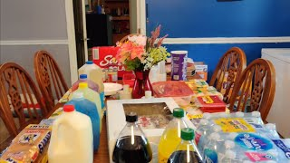 Walmart grocery restock haul  Daughter did the shopping today