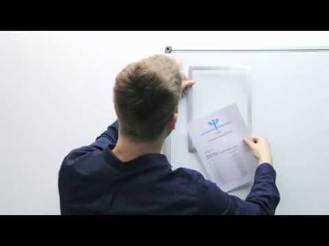 DURAFRAME® MAGNETIC (EN) - The infoframe for metallic surfaces | DURABLE