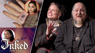 Tattoo Artists React To Tattoo Mistakes On Celebrities | Tattoo Artists Answer
