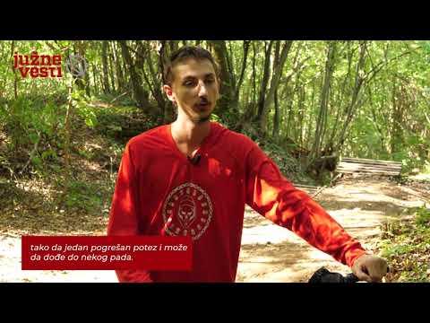 """""""Rolling Stones"""" u Nišu, najekstremnija biciklistička staza u Srbiji nazvana po bendu i spremna za prvo takmičenje"""
