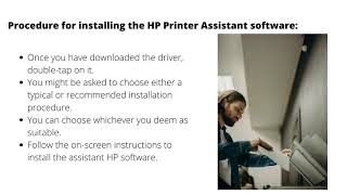 Install HP Support Assistant on PC
