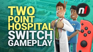 Two Point Hospital Nintendo Switch Gameplay