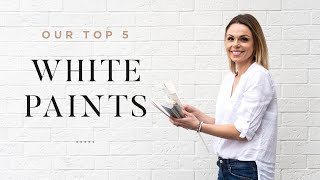 The Top 5 White Paints That You Should Paint Your Home
