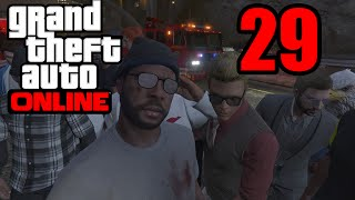 GTA 5 Online PS4 - SLEEPING W/ THE FISHES! (GTA V Online PS4)   Part 29