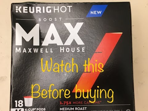 Maxwell House Max K Cup Coffee Review