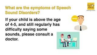 Speech Sound Disorder