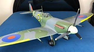 Avios Spitfire MkVb Super Scale 1450mm RC Warbird Unboxing & Build