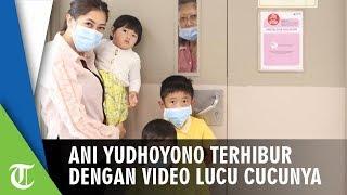 Ani Yudhoyono Terhibur dengan Video Lucu Cucunya