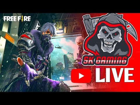 Free Fire Live  ||SK Gaming||