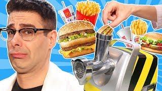 PICADORA DE CARNE Vs HAMBURGUESAS | EXPERIMENTO MEAT GRINDER