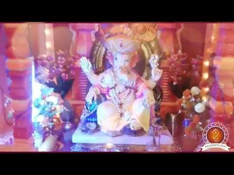 Sagar Mohite Home Ganpati Decoration Video