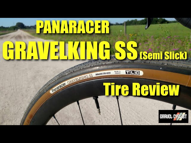Видео Покрышка Panaracer GravelKing SS Plus, 700x35C Black