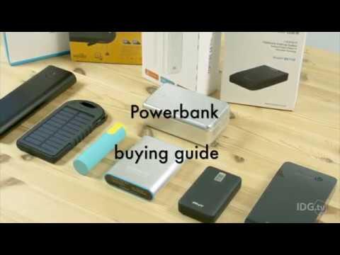 ¿Qué debes tener en cuenta al comprar una batería externa portátil?