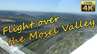 Flight over the Mosel Valley - Germany 4K Travel Channel