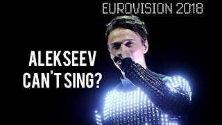 Alekseev Can't Sing? (Eurovision Song Contest 2018)