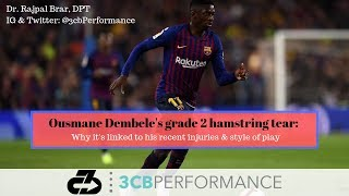 Ousmane Dembele grade 2 hamstring tear: why it's linked to his recent injuries and style of play