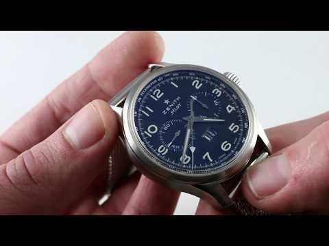 Pre-Owned Zenith El Primero Pilot Big Date Special 03.2410.4010/21.M2410 Luxury Watch Review