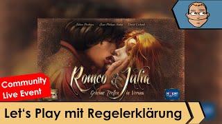 Romeo und Julia - Brettspiele - Let's Play mit Regelerklärung