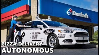 Ford's Autonomous Cars to Deliver Pizza in Miami