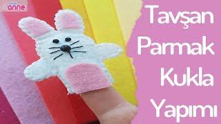 Gambar cover Tavşan Parmak Kukla Yapımı - DIY - Kendin Yap