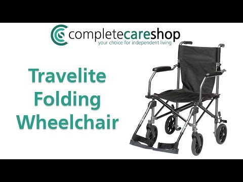 The TraveLite Transport Chair