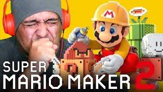 jacksepticeye super mario maker 2 part 2 - TH-Clip